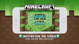 Invitacion En Video Minecraft Youtube