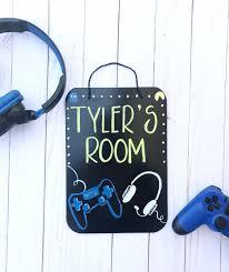 Kids Room Signs Painted Sea Art