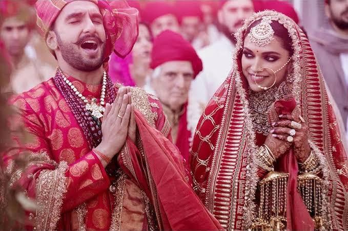 "Image result for [PIC INSIDE] On 1st anniversary, Deepika Padukone wears saree to Tirupati, gifted on wedding last year"""