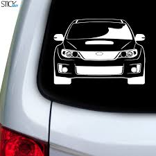 Subaru Impreza Wrx Stink Eye Decal For Car Window Stickany