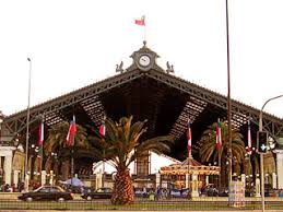 Patrimonio Estación Central de Ferrocarriles de Santiago