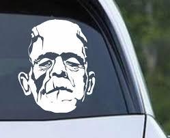 Frankenstein A Monster Die Cut Vinyl Decal Sticker Decals City