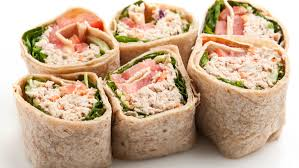low calorie and low fat tuna wrap recipe