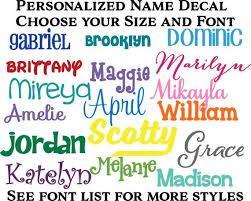 Bottle Name Decal Tumbler Name Decal Name Sticker Etsy Name Stickers Monogram Decal Initials Decal