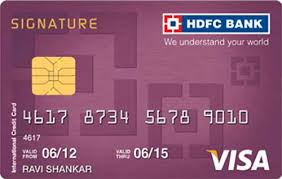 hdfc ltd visa credit cards in ratlam