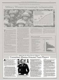 THE NATION - Q. & A.: Brig. Gen. Myrna Hennrich Williamson; 'Committed,  Mission-Oriented Team Players' - The New York Times