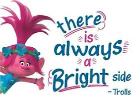 There Is Always A Bright Side Vinyl Home Poppy Quotes Trolls Wall Decal 13x20 Ebay