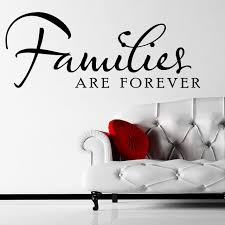 Family Are Forever Quote Wall Sticker Decal World Of Wall Stickers