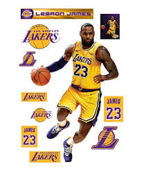 Fathead Los Angeles Lakers 77 Lebron James Wall Decal Set Best Price And Reviews Zulily