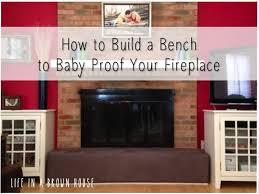 baby proofing the fireplace baby