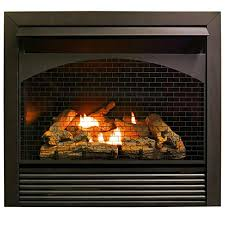 procom vent less fireplace insert