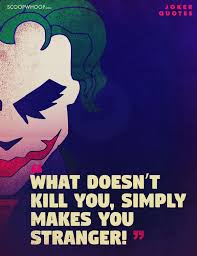 quotes by the joker that reflect the madness that is in