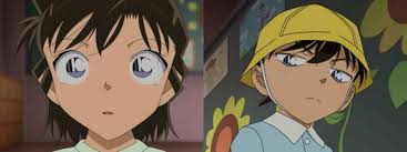 The first meet between Conan and Ran - Detective Conan Photo ...
