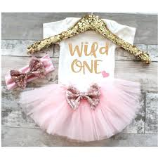 Customize 1 Year Baby Girl First Birthday Tutu Dress Kids Gold Dresses For Girls Christening 6 Months 1st 2nd Cake Puffy Vestido Matching Family Outfits Aliexpress