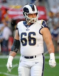 Los Angeles Rams offensive guard Austin Blythe Editorial Stock ...