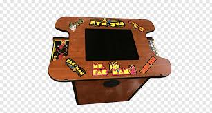 pac man galaga dimensions game table