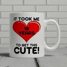 happy birthday 18th mug fun gift funny