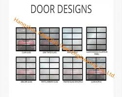 aluminum frame rolling door customized