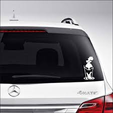 Amazon Com Aampco Decals Haunted Mansion Parasol Tightrope Girl Car Truck Motorcycle Windows Bumper Wall Decor Vinyl Decal Sticker Size 8 Inch 20 Cm Tall Color Gloss White