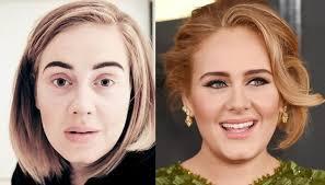 unrecognizable without makeup