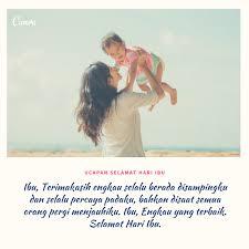 ucapan selamat hari ibu penuh cinta dengan gambar canva