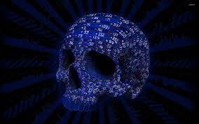 54 blue skulls wallpapers on wallpaperplay