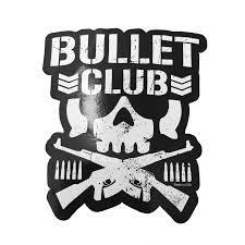 Bullet Club Logo Sticker