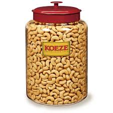colossal cashews office party jar