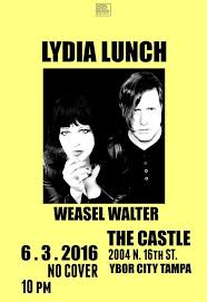 Lydia Lunch and Weasel Walter - bungalower