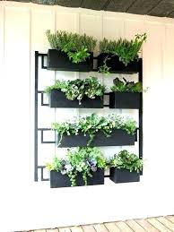 outdoor wall mounted planters