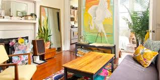 small colorful new orleans apartment