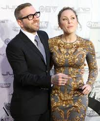 Singer Dallas Green and his wife Leah Miller