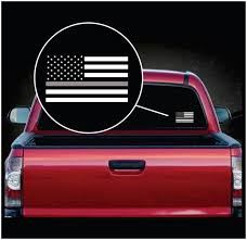 Thin Grey Line Corrections Officer Window Decal Sticker Custom Sticker Shop