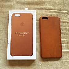 iphone 6 6s plus saddle brown apple