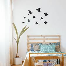 Beautiful Watercolor Bird Wall Decals For Kids Rooms And Living Spaces Made Of Sundays