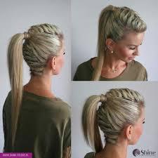 High Hair Wysokie Upiecie Warkocz With Images Fryzury