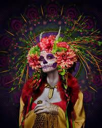 dead makeup las muertas