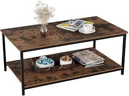 homfa industrial coffee table