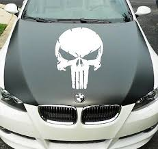 Car Exterior Styling Badges Decals Emblems Vehicle Parts Accessories The Punisher Skull Car Sticker Film Tv Rat Look Hood Ride Vinyl Graphic Decal Tamil Ehowremedies Com