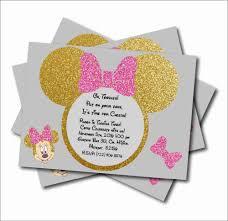 14 Unids Lote Minnie Mouse Brillo Dorado Fiesta Personalizada