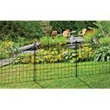 Amazon Com Greenes Fence Rccg4pk Critterguard Cedar Garden Fence Pack Of 4 23 5 Garden Outdoor