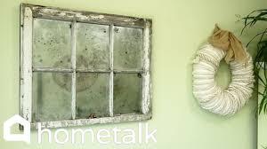 How To Fake An Antique Mirror Hometalk Youtube