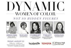 List of Nominees: Dynamic Women of Color Champions of Change Awards