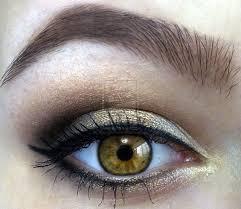cute simple makeup for hazel eyes