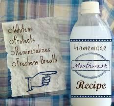 diy essential oils mouthwash