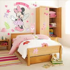 1pc Cute Minnie Mouse Wall Sticker Vinyl Mural Diy Girls Bedroom Decoration Kids