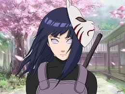 Always thought Hinata would suit being in the anbu so I drew it ...