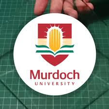 Murdoch University Australia Alumni Static Cling Car Windscreen Decals 11cm Diameter 15 Each With Free Normal Mail Design Craft Art Prints On Carousell