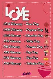 valentine week 2021 february special