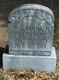Janna Smith Fillingame (1870-1919) - Find A Grave Memorial
